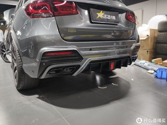 奔驰GLC43 AMG,改WLAD包围是一种什么感觉?