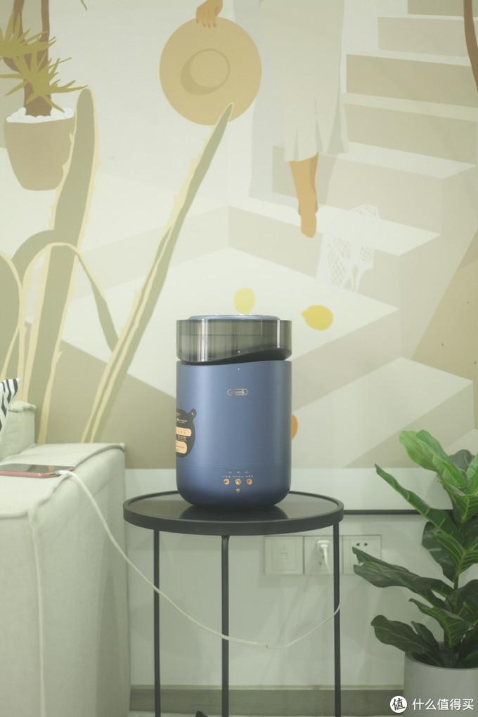秋冬干燥来袭,能杀菌的黑科技加湿器你用过没?德尔玛第三代智能Wi-Fi蒸馏加湿器RZ300
