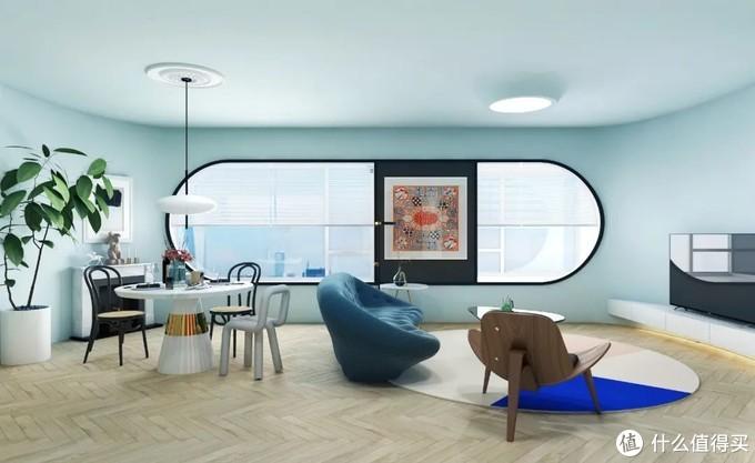 商务范主的家,16㎡客厅改造后变41㎡,功能区一个不少,还多个超大衣橱