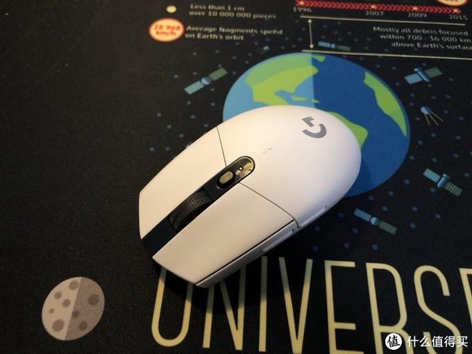 给网友更换罗技G304游戏鼠标左键微动开关