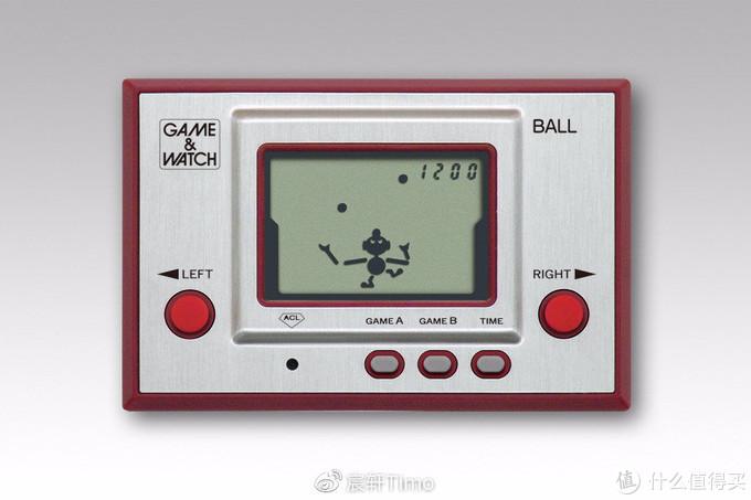 GAME&WATCH 系列首款作品《拋球(BALL)》