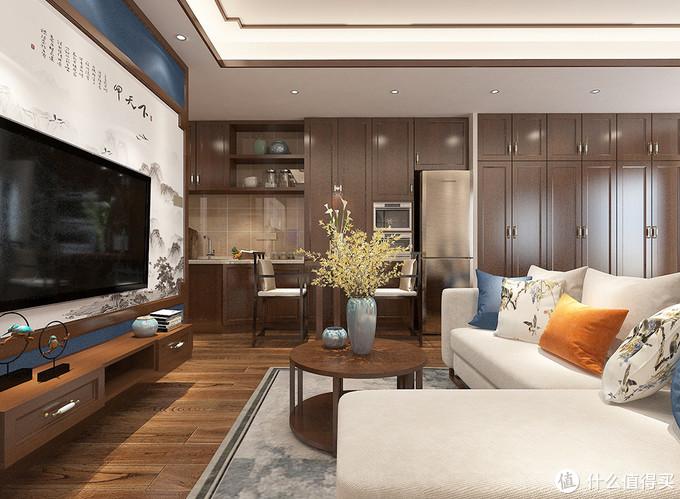 40岁阿姨为了自由,买36平单身公寓独居,装中式风美观又有文化感