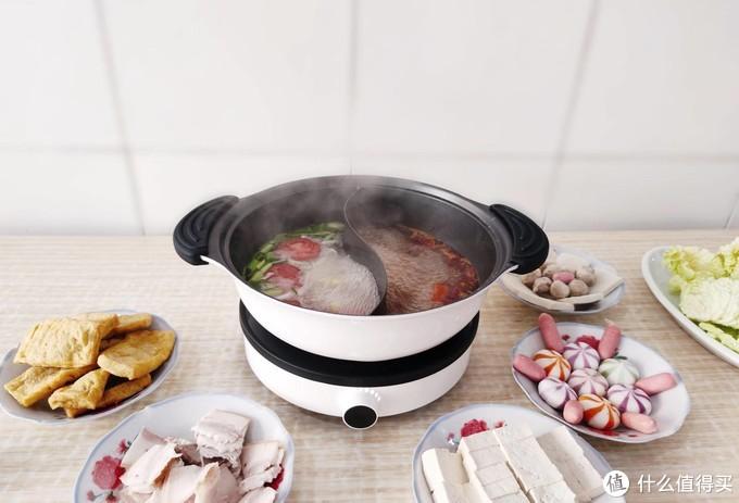 冬季火锅新姿势,一体铸造+S型隔层,知吾煮鸳鸯锅众享一锅两味