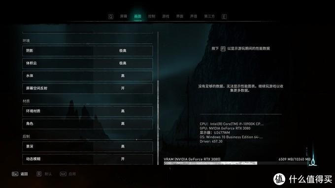《刺客信条:英灵殿》硬件需求评测:狂战士也需要好显卡
