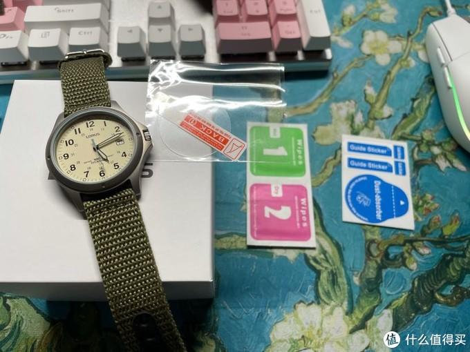 "lorus 手表开箱,人生第一块""钛 ""手表"
