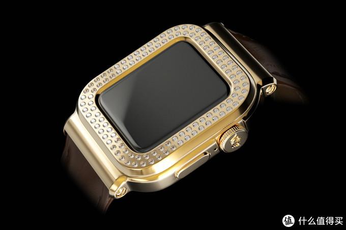 奢华品牌 Caviar 联名苹果推出限定版 Apple Watch,售价30万