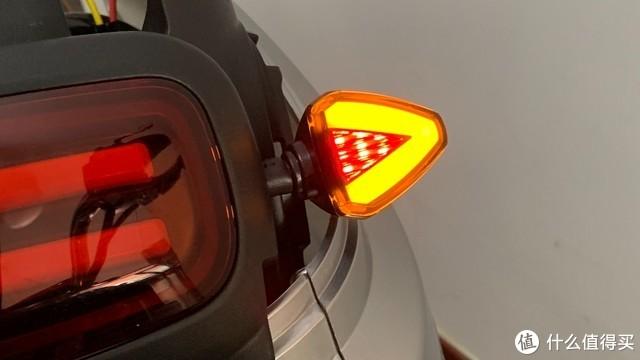 新国标电动车没后转向灯的给你们支一招,十元无损安装,