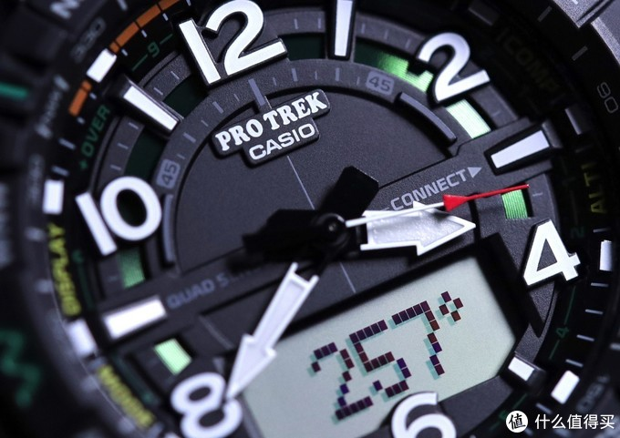 食之无味,弃之可惜,记户外新宠—Casio Pro Trek PRT-B50