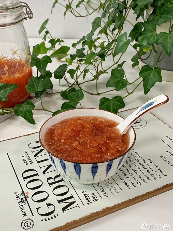 柚子别直接吃了,教你做蜂蜜柚子茶,酸酸甜甜,好喝又清香