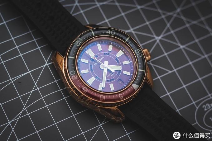 谁说国产手表都很low,proxima潜水表就很赞