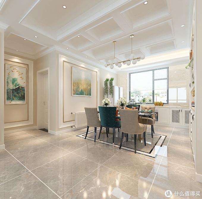 忍不住晒晒表哥家的美式风装修,全屋精致耐看,被客厅设计迷住了