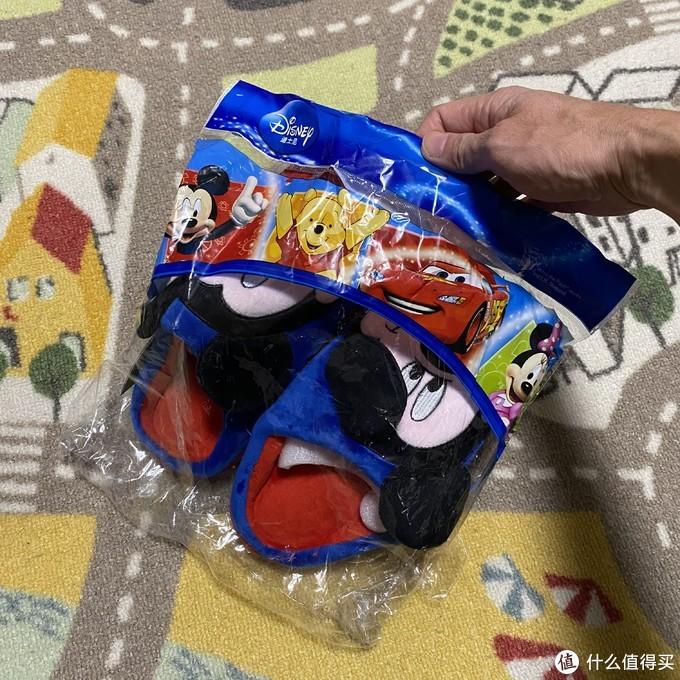 迪士尼米奇儿童棉拖鞋