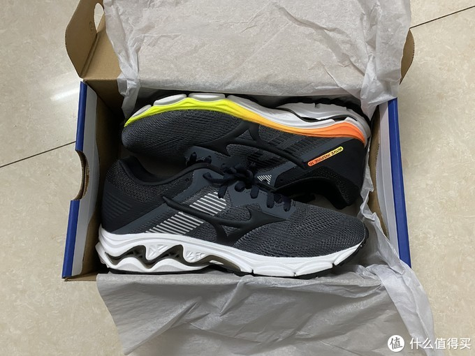 Mizuno美津浓男款运动鞋稳定支撑跑步鞋WAVE INSPIRE 16 多图,慎入!