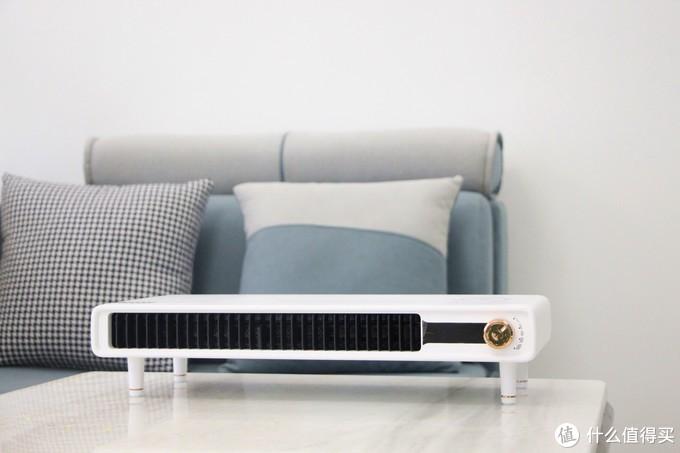 温暖何须等待舒乐氏桌面支架式暖风机