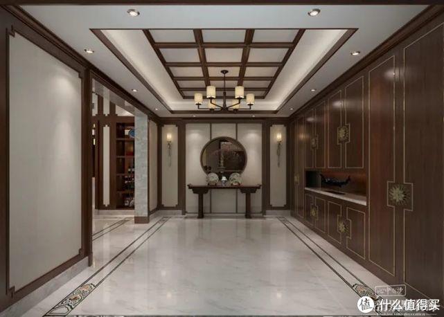 常州别墅全案装饰 800㎡沉稳典雅新中式