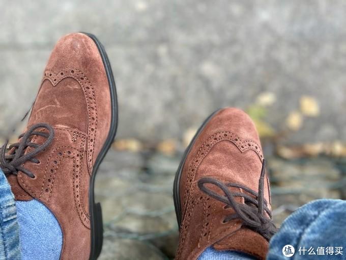 还有比麂皮鞋更适合冬天穿的休闲鞋吗?Ecco、Clarks麂皮鞋穿着体验分享