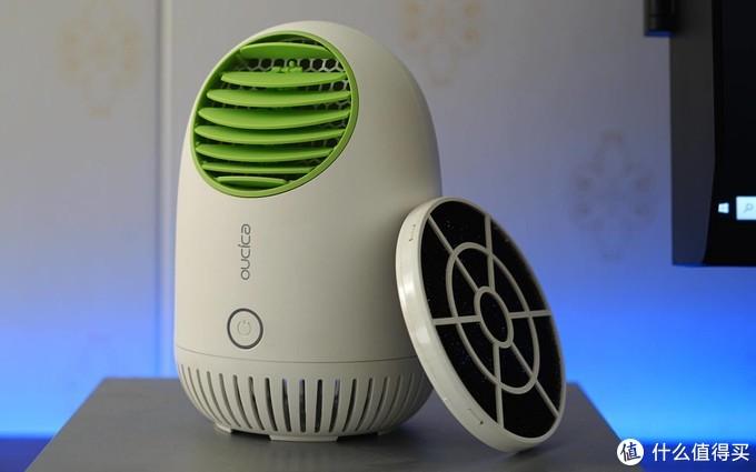 小体积大能力,小欧光触媒空气洁净器体验,消毒除甲醛小能手!