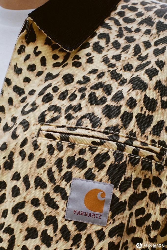 豹纹+工装 WACKO MARIA x carhartt WIP联名系列