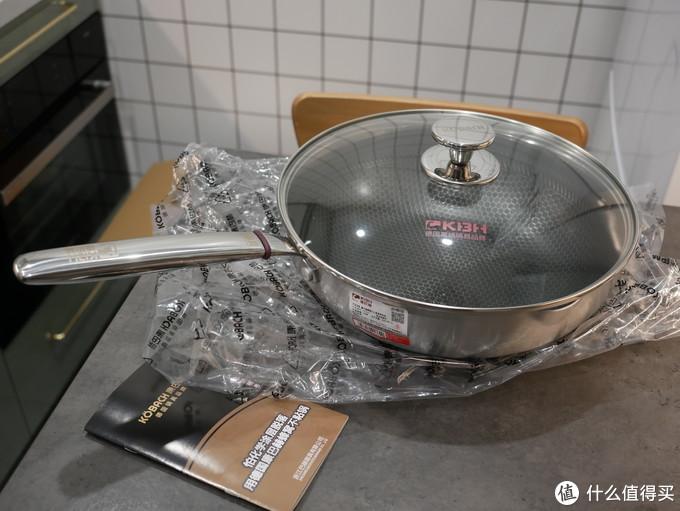 我的双十一剁手战绩:康巴赫(KBH)316L不锈钢煎炒两用锅使用体验