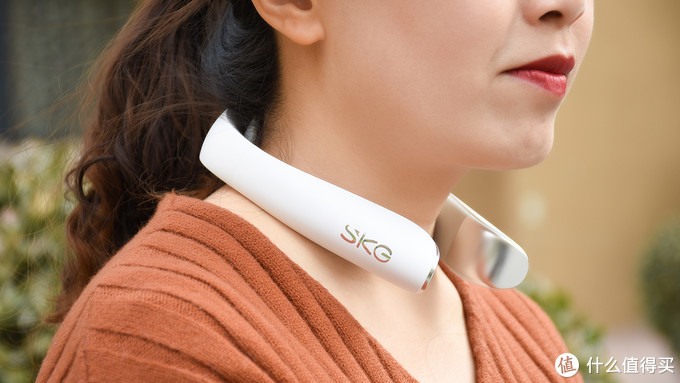 SKG K5颈椎按摩仪体验:缓解疲劳 唤醒活力