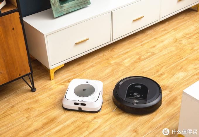 iRobot扫拖机器人组合:横扫宠物毛发,智享洁净生活