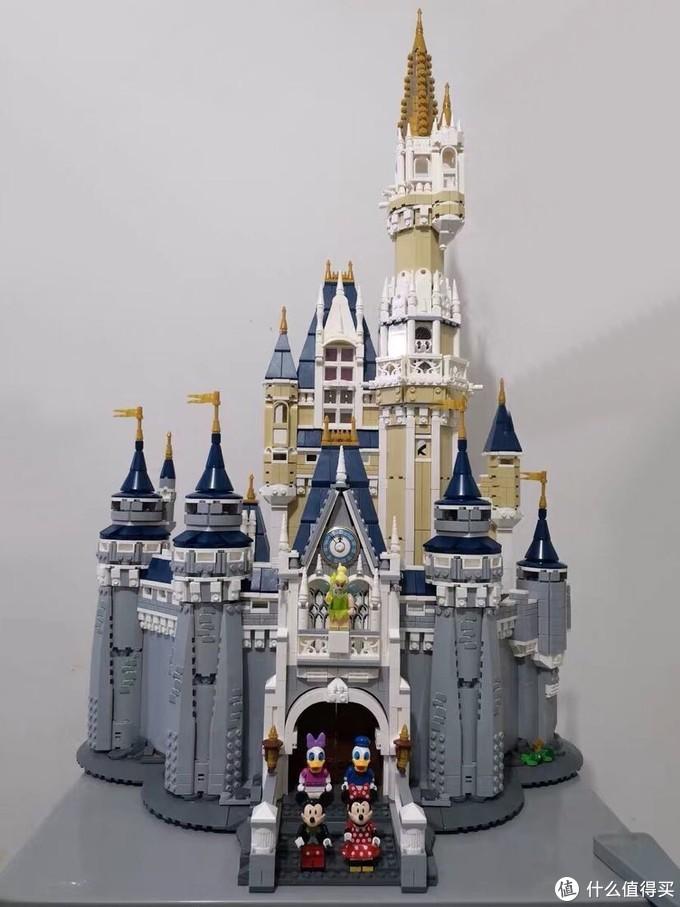 迪士尼城堡,正面效果,整体真的不错