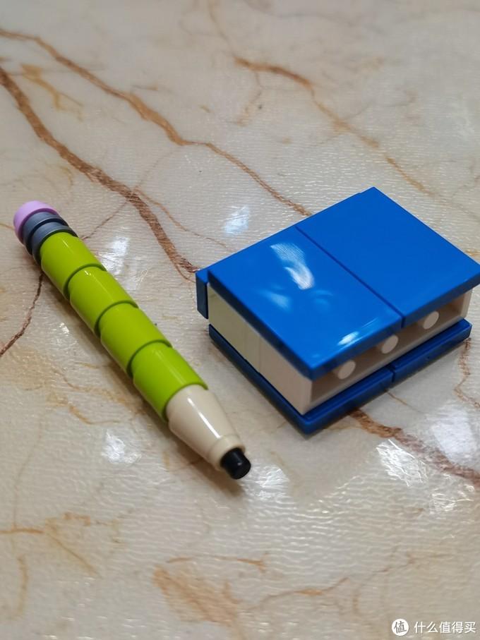 老的笔和书