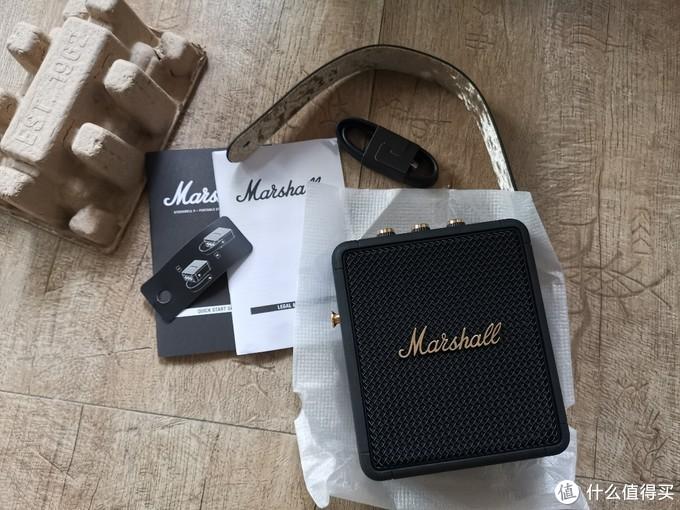 集颜值与音质于一身的音响-Marshall Stockwell二代开箱