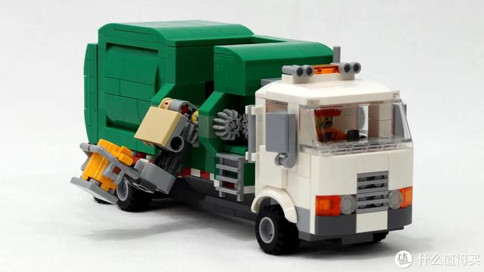 乐高Ideas作品自动垃圾车获10000票支持!附构造讲解及图纸