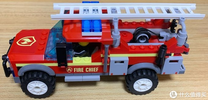 乐高60231消防队长应急卡车