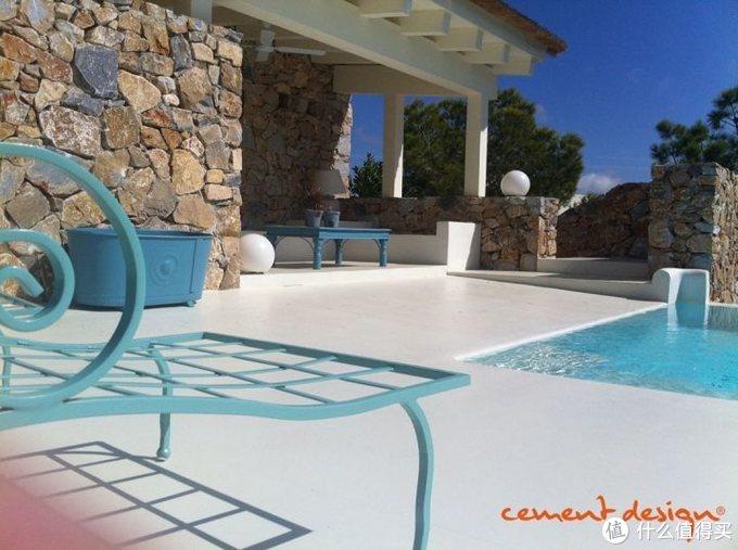 西慕艺术水泥泳池案例