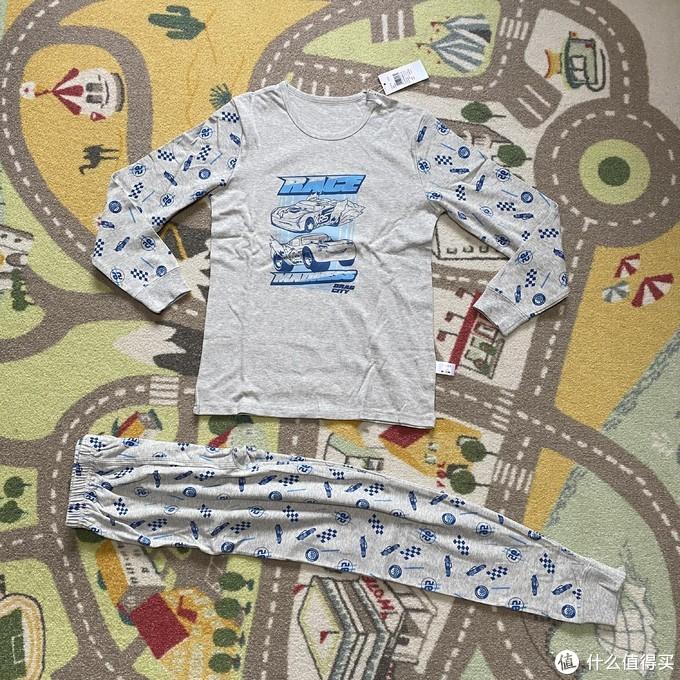 三枪迪士尼汽车总动员儿童内衣套装