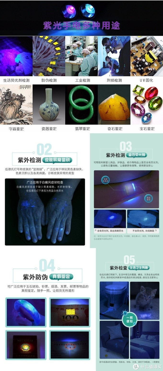 现代照妖镜——纳丽德Dr.K3 UV伍德灯医用手电