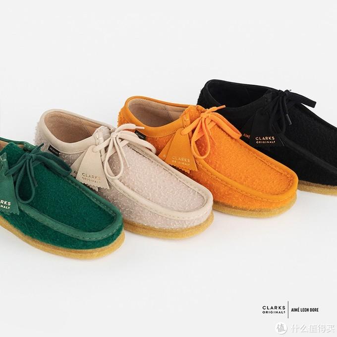 被收购无影响:Clarks和AIMÉ LEON DORE推出联名WALLABEE袋鼠鞋