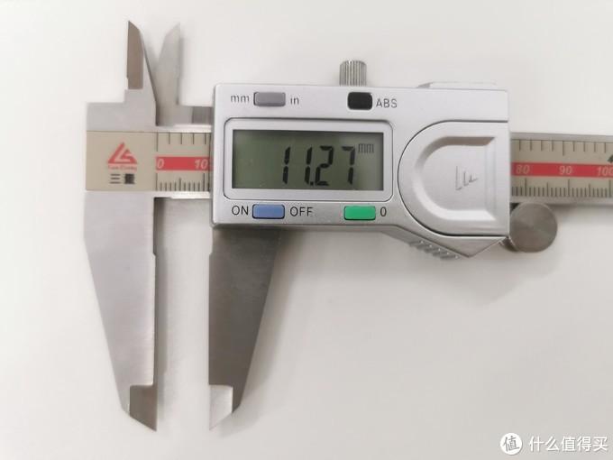 带原厂壳总厚度11.27mm