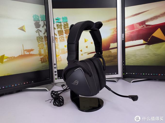 MAQ声频,幻彩声波,AI双降噪——ROG棱镜S头戴式耳机晒物