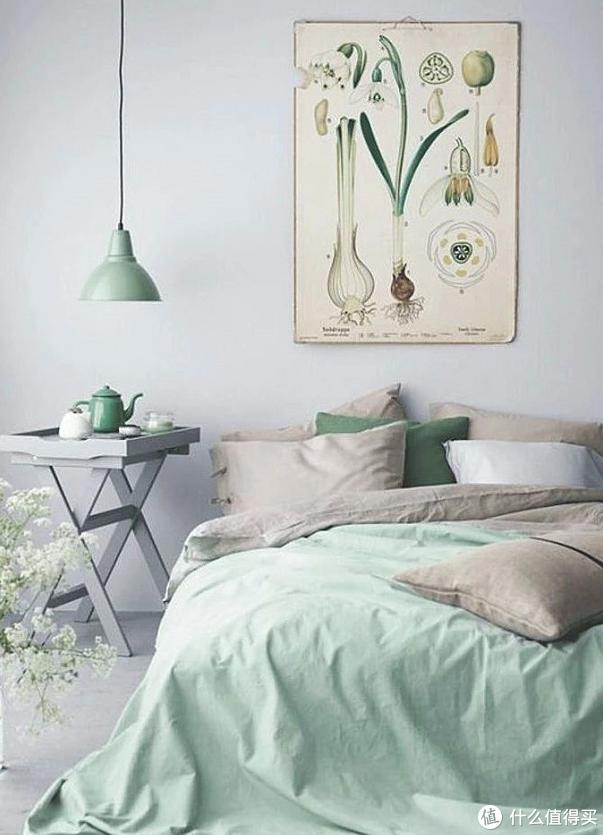 卧室用这些颜色?怪不得那么幸福!