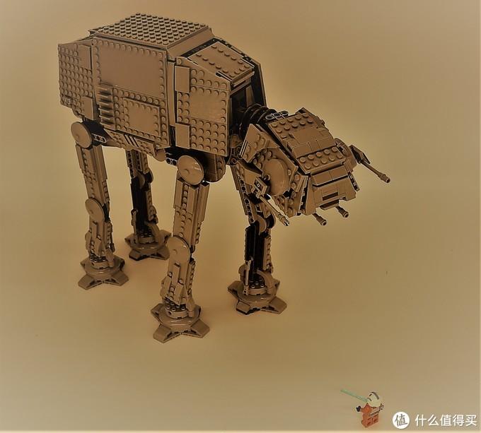 机械巨象:乐高星战AT-AT步行机(LEGO75288)