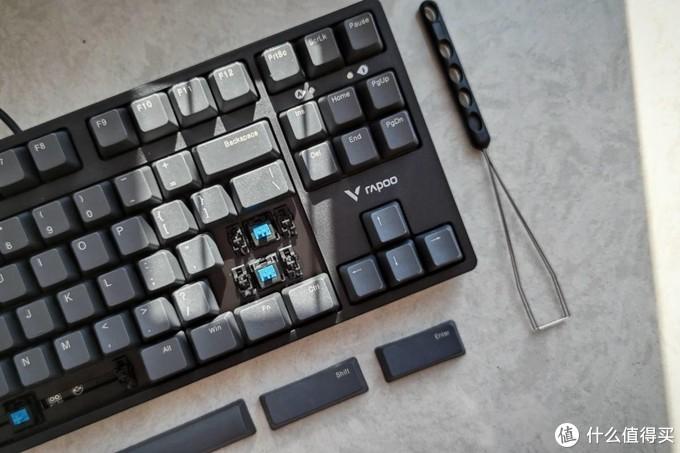 入门价格的Cherry轴 雷柏V860-87机械键盘开箱!