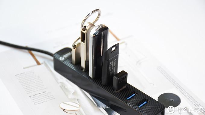 ORICO七口USB扩展集线器:桌面上的USB扩展利器