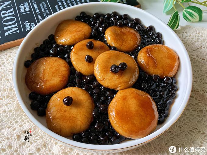 一碗糯米粉,一把珍珠,自从学会这甜点,我家一周吃3次,真好吃