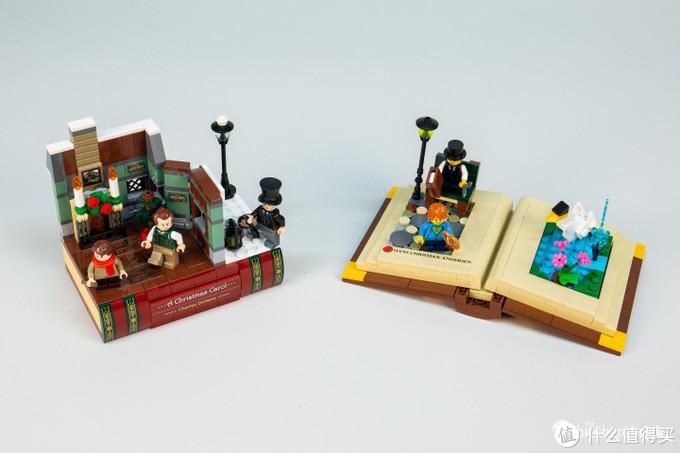 乐高12月圣诞活动赠品40410圣诞颂歌:查尔斯·狄更斯套装评测