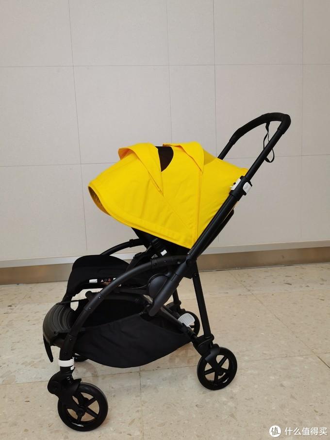 拔草小七同款Bugaboo Bee6城市型轻便多功能婴儿车