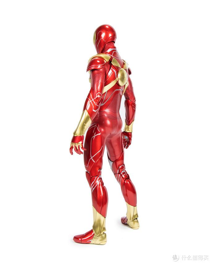 黄金机械腿才是主体!Hot Toys 游戏版钢铁蜘蛛侠 1/6 可动人偶