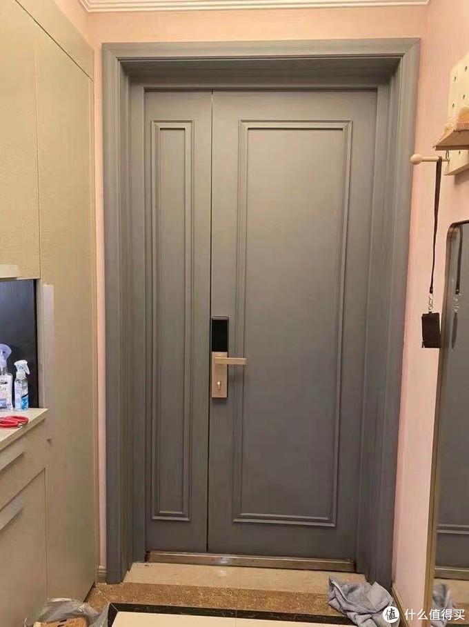 使用黑板漆防盗门改色案例