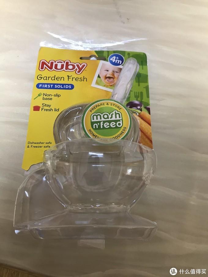 努比(Nuby)婴儿研磨碗辅食工具辅食碗超简单开箱