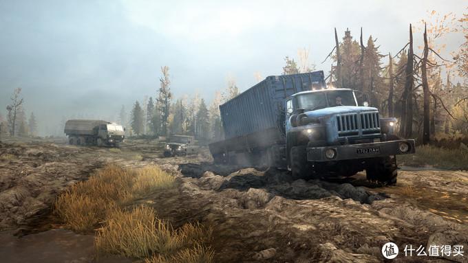 【福利】Epic限时免费领取:《旋转轮胎:泥泞奔驰》 卡车模拟限时0元