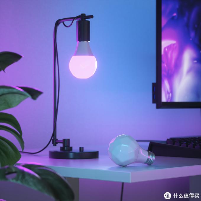 Nanoleaf Essential智慧LED智能灯泡和灯带,支持HomePod Mini变色