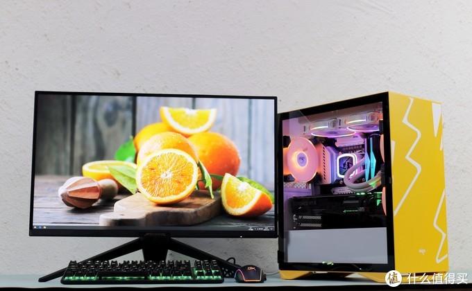 清新桌面橙白范,6000元打造的中端主机很抢眼