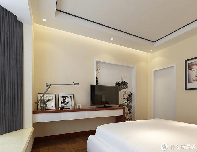 走进这对夫妻的130㎡新家,客厅用文化石点缀出中式风,文艺有内涵